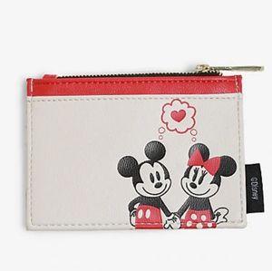 Loungefly Disney Mickey & Minnie Pinky Cardholder